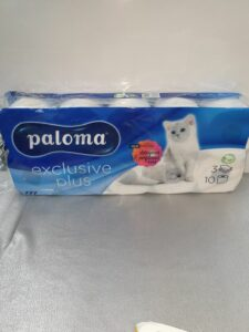 """10 r. 3-laags PALOMA """"exclusive plus"""""""