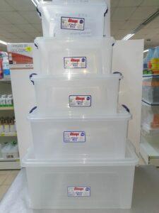DUNYA TRANSPARANTE BOX 27L (ca46x31xH21cm)