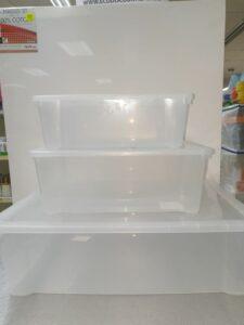 DUNYA TRANSP. BOX 10L (ca.38x27xH14cm)