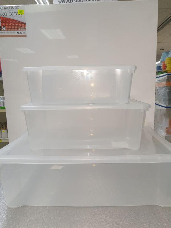 DUNYA TRANSP. BOX 5L (ca.33x20xH11cm)
