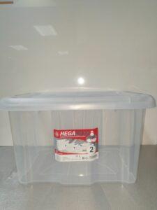 HEGA BOX 17L (nr2) ca 40.6x32,2xH23.2cm