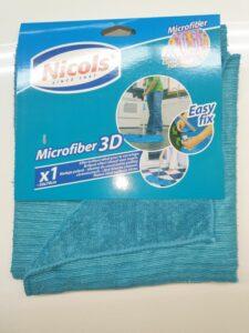 1x Nicols 50x70cm microvezel 3D
