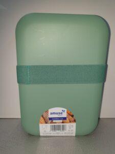 DPD broodtrommel ca 21x14cm met elastiek (medium)