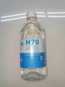 Ontsmettende handgel 'H7' 70% alcohol (Sterk verlaagd in prijs)
