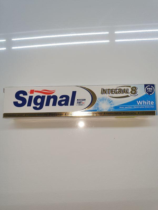 SIGNAL INTEGRAL8 WHITE TP 75ml