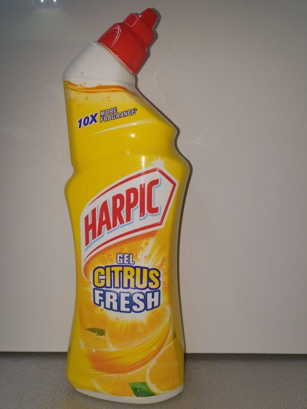 Harpic 750ml wc-gel citroen fresh