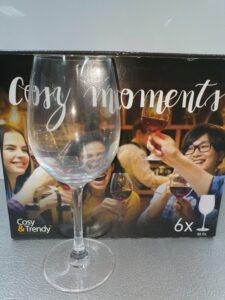 6 wijn glazen 48cl cosy momments