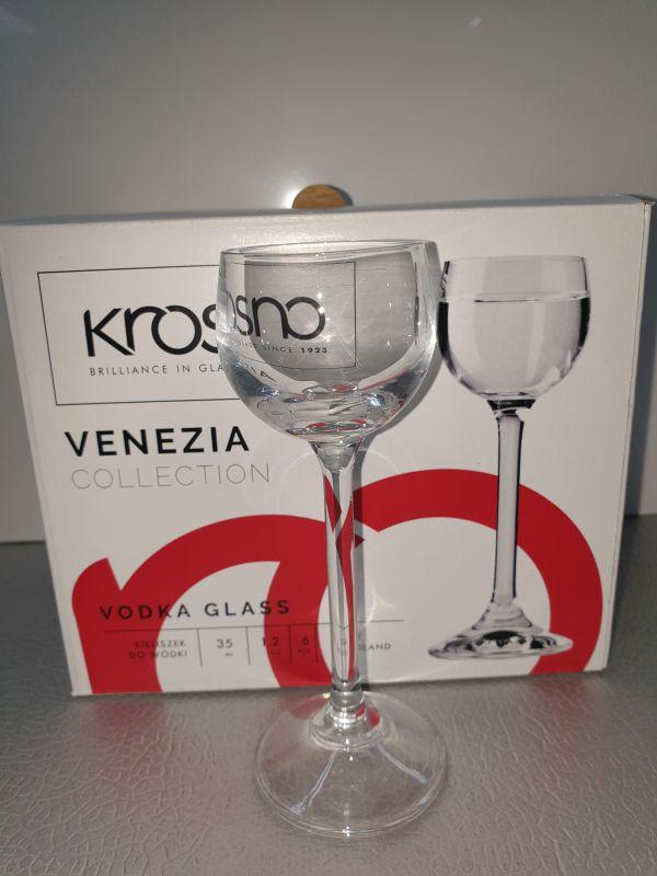 6 wodka glazen 35ml (venezia)