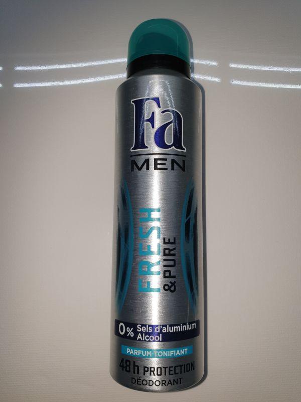 DEO FA MEN FRESH&PURE 150ml