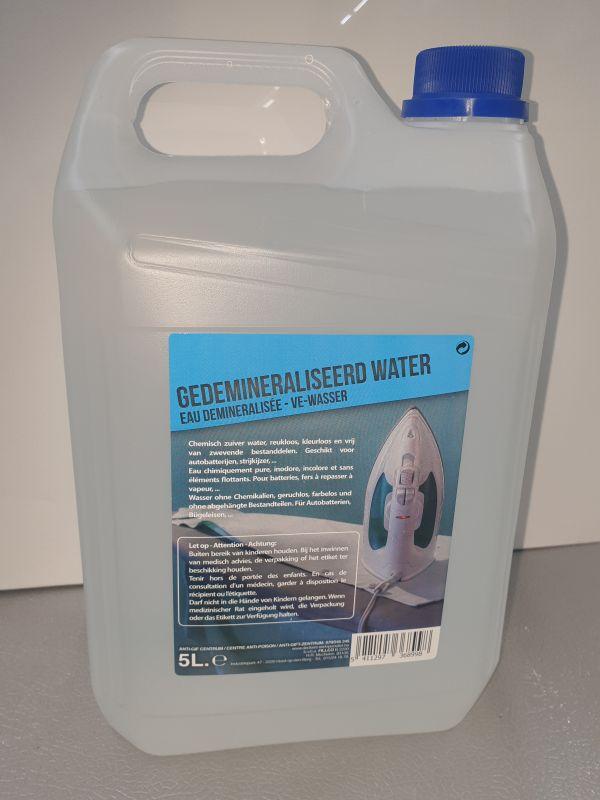 Gedeminiraliseerd water 5L