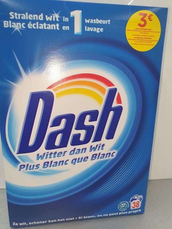 Dash witter dan wit 2.470kg=38d