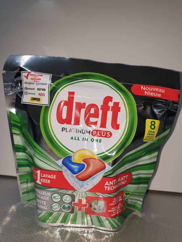 DREFT 8 capsules platinum plus