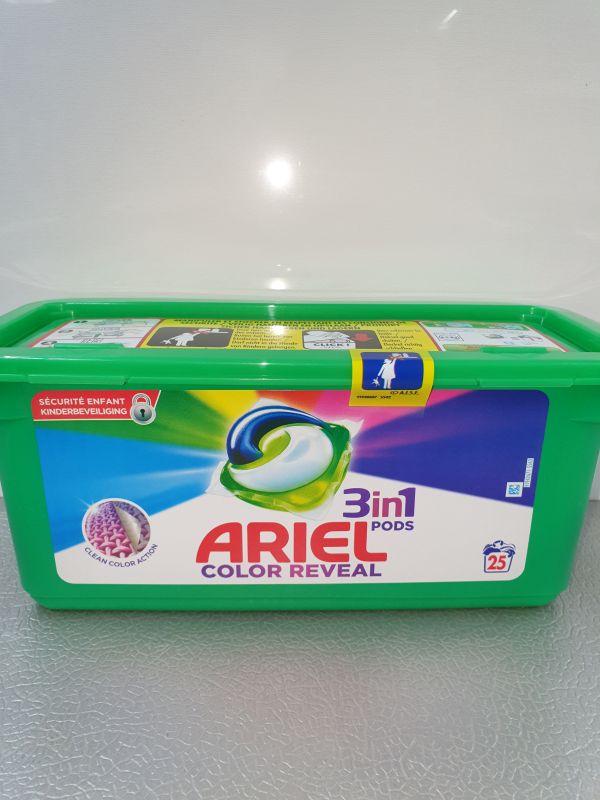 Ariel colour caps 675g=25d